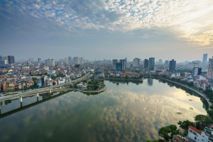 Hanoi City Skyline
